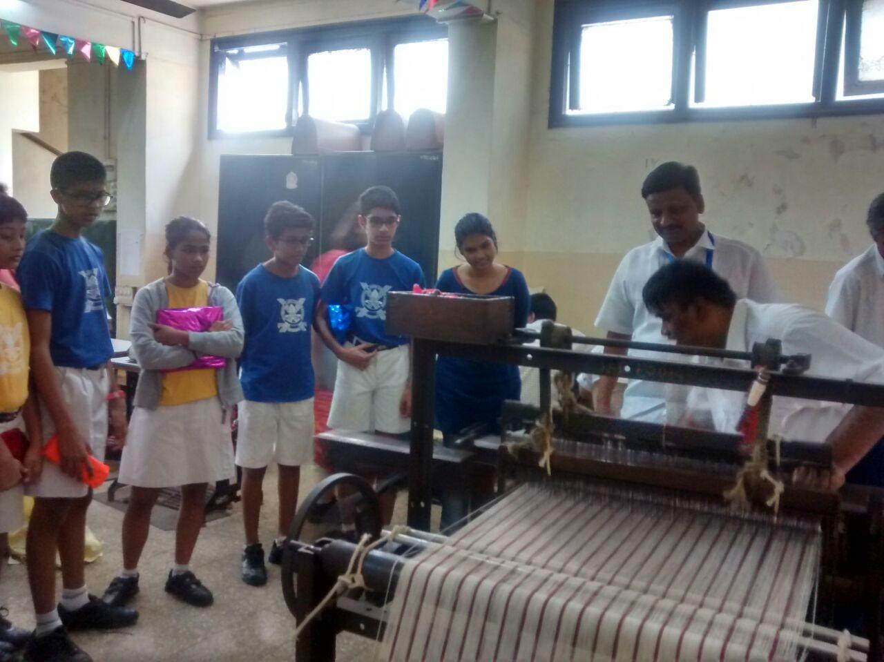 Visit to Jai Vakeel School