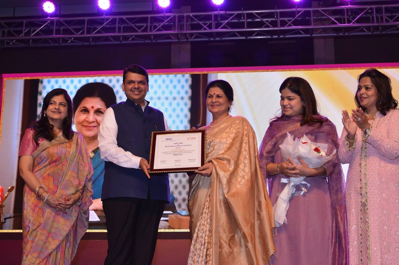 Felicitation of Women Achievers at IMPACT 2017