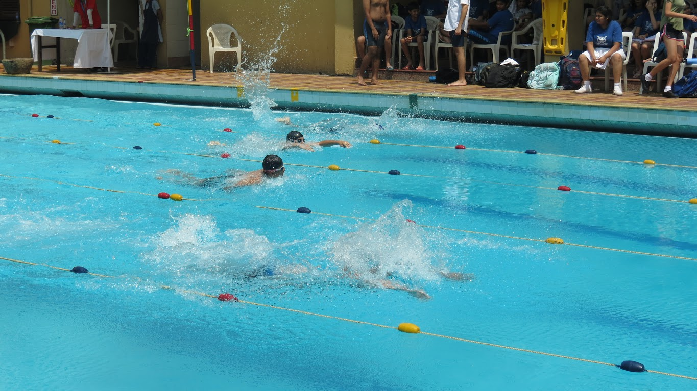 Inter House Swimming 2017