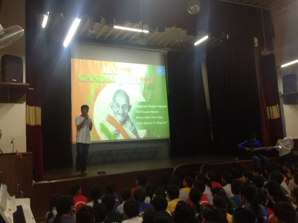 6B Assembly – 'Is There a Gandhi in You?'