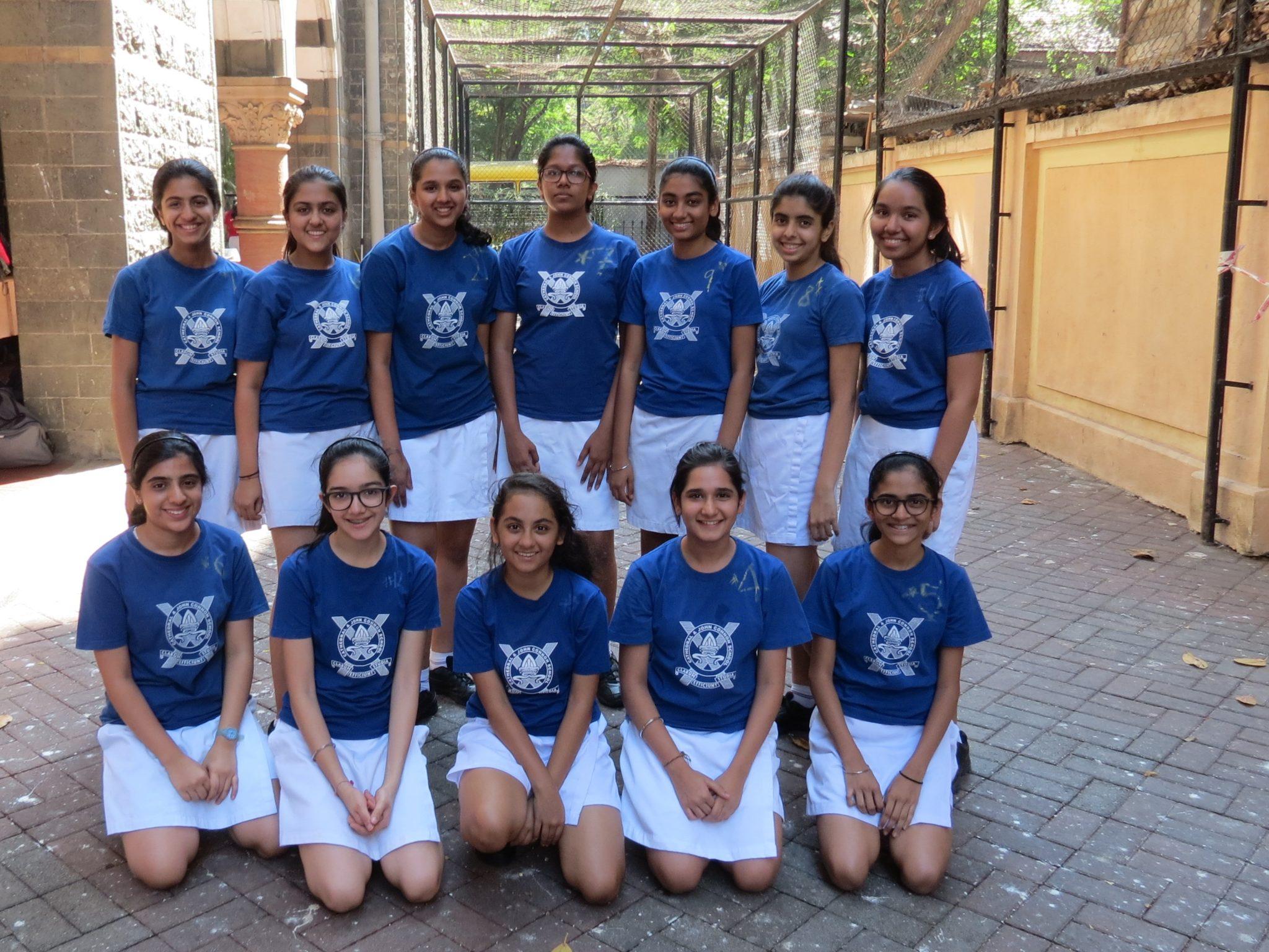 Inter House Throwball Girls