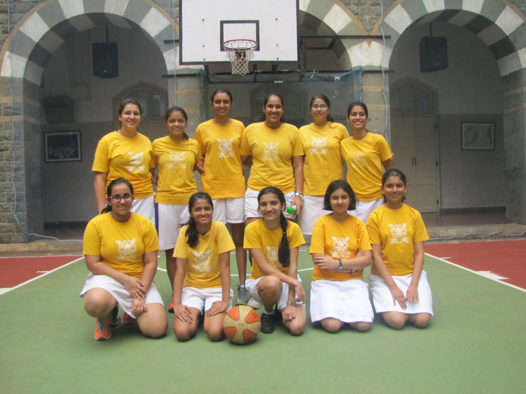 Inter House Basketball Girls Senior
