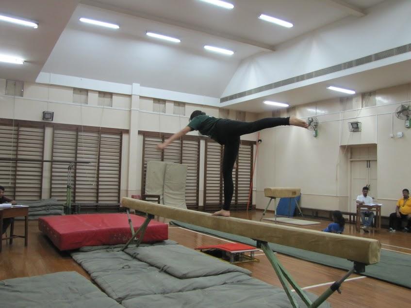 Inter House Gymnastics