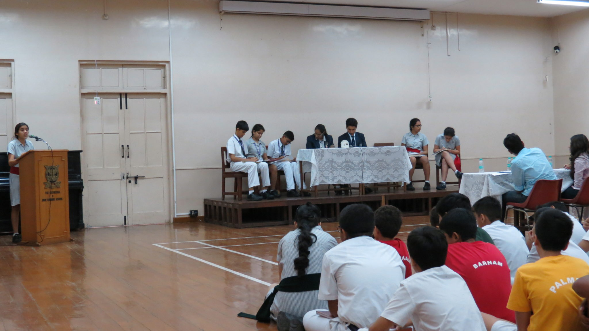 Inter House English Debates