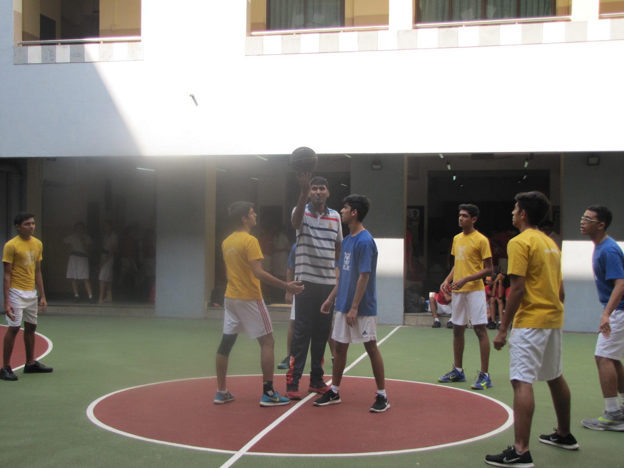 Inter House Basketball Senior Boys