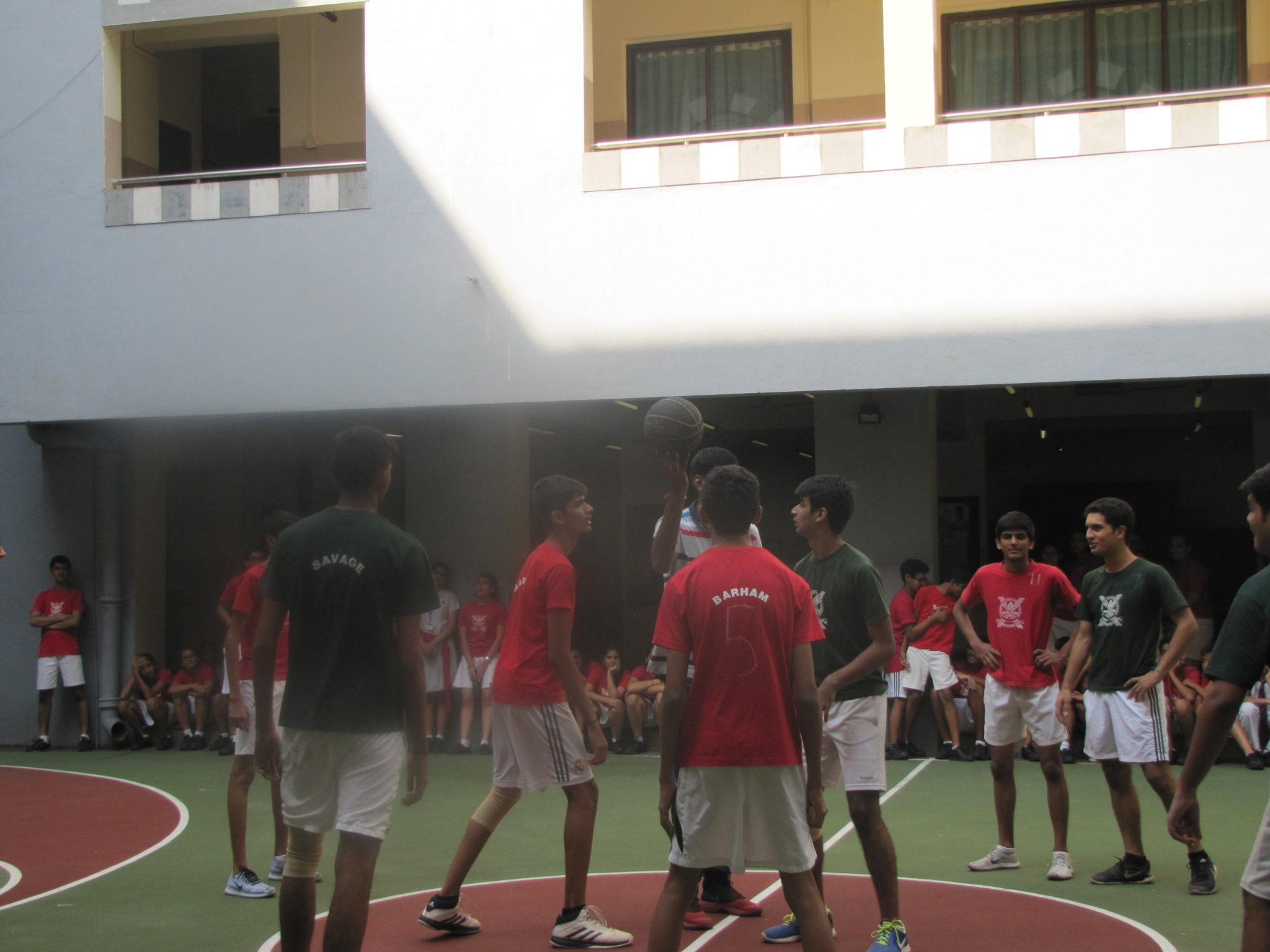 Inter House Basketball Senior Boys II
