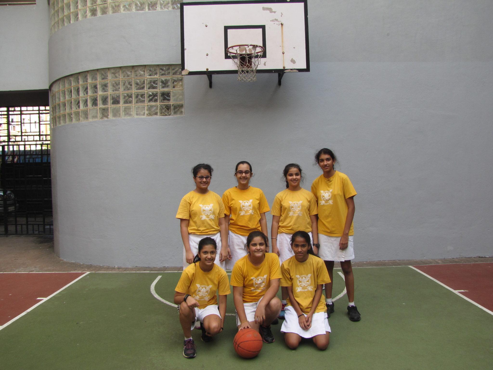 Inter House Basketball Girls Junior